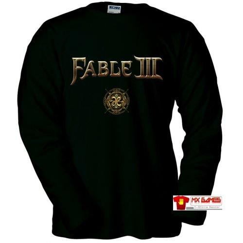 Mx Games Camiseta Fable III ( Emblem) (Talla: Talla XL Unisex Ancho/Largo [58cm/76cm] Aprox)