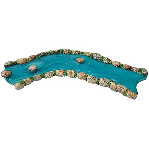 Curved River for Miniature Garden, Fairy Garden