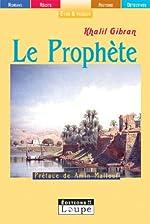 Le Prophète (grands caractères) de Khalil Gibran