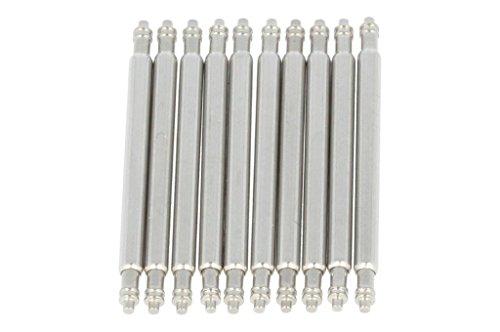 PUREgrey 10 x Federsteg 22mm x 1,50 Durchmesser Edelstahl