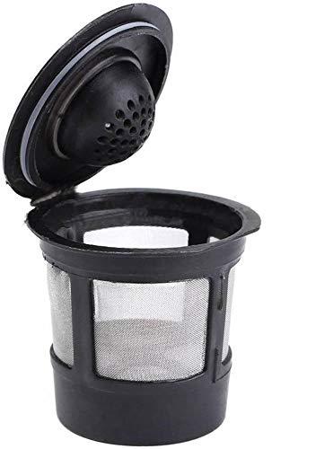 POFET Juego de 6 cápsulas de café reutilizables recargables K-Cup para Keurig 2.0 y 1.0 filtros de café recargables