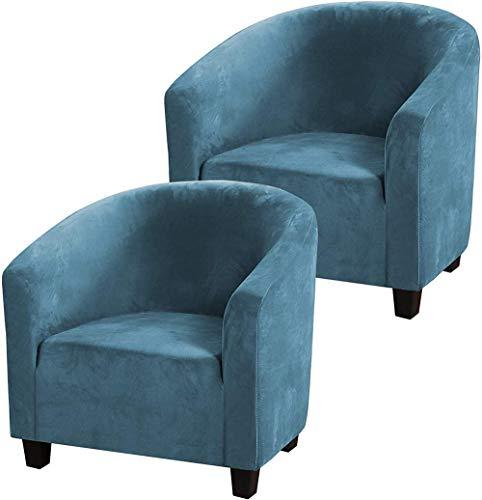 IUYJVR Housse de Chaise de baignoire, housse de canapé Extensible, housse de Chaise de baignoire en Velours, housse de canapé Ultra douce en Tissu Extensible de protecteur de meubles antidérapant.