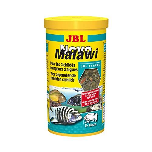 JBL Nourriture Poissons cichlidés en Flocons NovoMalawi 1 Litre
