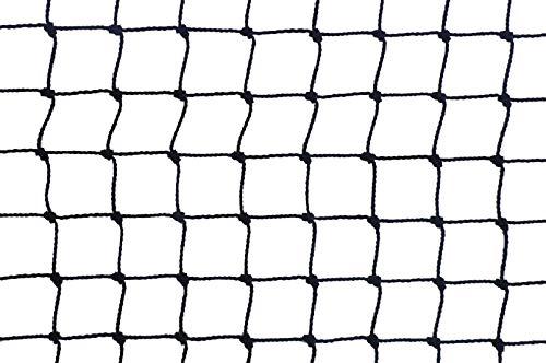 MAILLESTORE Filet Anti-moineaux - Maille de 19mm Noir 5m x 10m