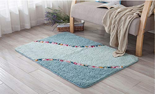 SJIUH Alfombra de baño,Juego de alfombras de baño con Forma elíptica, Juego de alfombras de baño ecológicas, Juego de alfombras de baño con Pedestal de Microfibra, alfombras de baño para Mascotas,