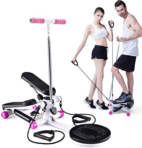 HWMYA Ellittica Twist Stepper, Home Fitness Perdita di Peso e Multi-Function Esercizio Stepper, 35 Resistenza Pound, Silenzioso Formazione Dispositivo Rotazione Passo-Passo,2