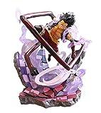 GYINK One Piece Figure PurpleRufyCreative Monkey DLuffySnake Action Anime Figure Toy Regalo Di C...