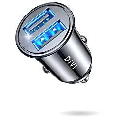 DIVI Mini USB Car Charger