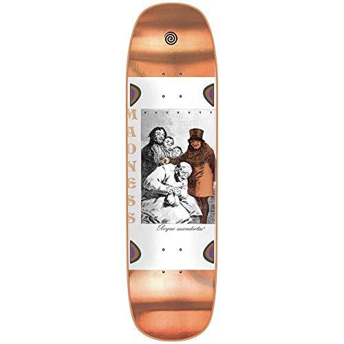 MADNESS SKATEBOARDS Sam Porque Skateboard Deck Beckett Bronze 22,2 cm