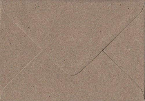 Premier – Sobres de estraza de 100 g/m2, reciclados y engomados, tamaño C5, 162 cm x 229cm, (50 unidades)