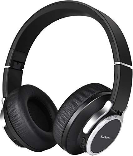 Bluetooth Kopfhörer Over-Ear Sport Kopfhörer Bloothooth 4.1 Kopfhörer mit Clear Voice Capture Technologie und Echo Cancellation , Kombination von Kabellos und Verkabelt für Gym, Sport, Running, Work