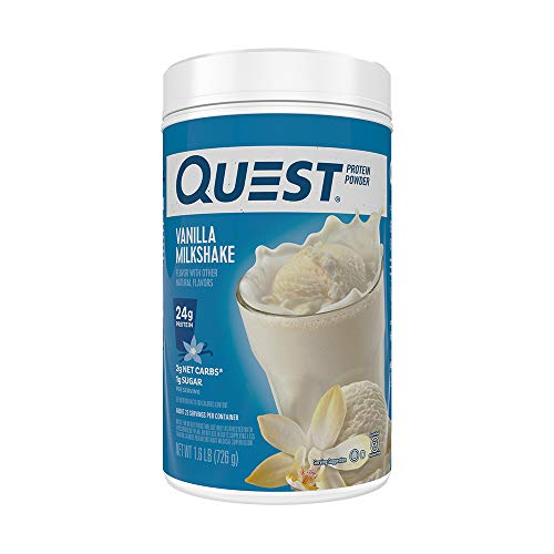 Quest Nutrition Protein Powder, Vanilla Milkshake, 1.6 Pound