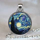 Dr Who Starry Night Anhänger  Vincent and The Doc