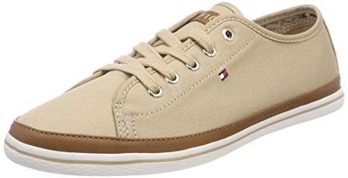 Tommy Hilfiger Damen Iconic Kesha Sneaker, Beige (Desert Sand 932), 38 EU