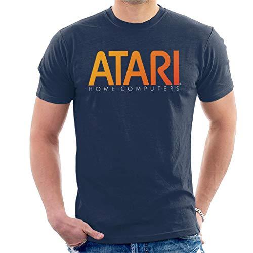 Atari Home Computers Orange Logo Men's T-Shirt
