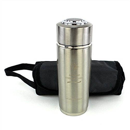 Alkaline Water - Nano Energy Bottle Flask Cup - Portable Metal Water Ionizer