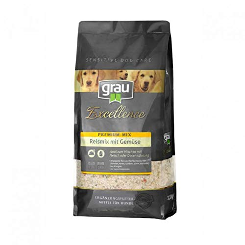 Grau Excellence Premium-Mix Reismix mit Gemüse 1,5kg