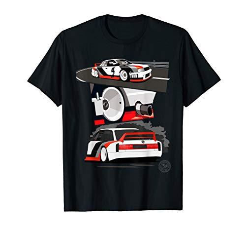 Automotive Apparel: Vintage Racing Race Car T-Shirt