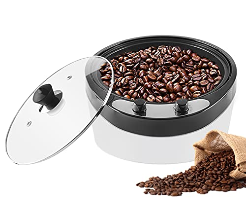 YUCHENGTECH Macchina per la torrefazione dei chicchi di caffè elettrica Macchina per la torrefazione del caffè Macchina per la torrefazione dei chicchi di caffè per uso domestico 800g 1200W