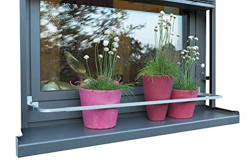 empasa Blumenkastenhalterung Blumenkasten Blumenkastenhalter Verstellbar OHNE BOHREN
