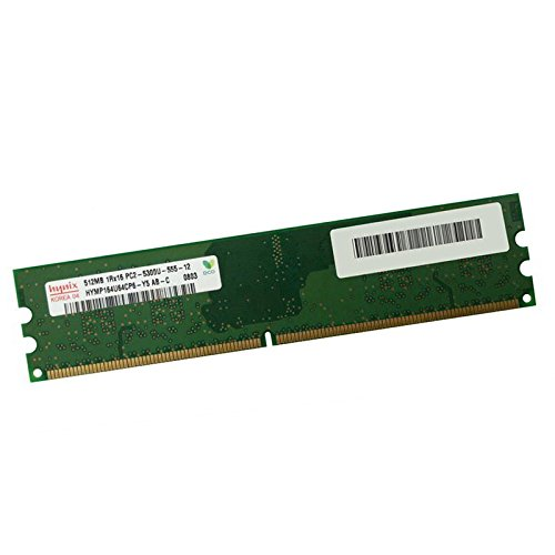 512MB RAM Hynix hymp164u64cp6-y5ab-C DDR2240pin PC2–5300U 667mhz 1Rx8CL5