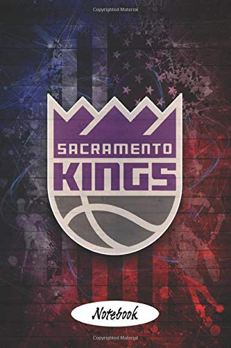 Notebook : Sacramento Kings Lined Notebook Journal 102 Pages - Independence Day Gift Types #17