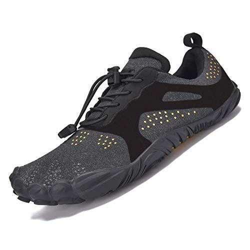 JACKSHIBO Zapatos descalzos para hombre y mujer, de secado rápido, para deportes acuáticos, antideslizantes, transpirables, 36-48 EU, color, talla 39 EU