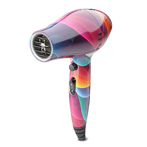 Secador de cabello LIM HAIR WR 3.0 para viaje, gimnasio o para cada día. 1200 W, boquilla, difusor y bolsa incluida. Tamaño reducido mini. Secador o W'21 PACK (FLUOR, SECADOR)
