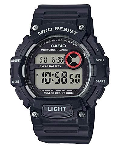 Casio Reloj Digital para Hombre de Cuarzo con Correa en Resina TRT-110H-1AVEF
