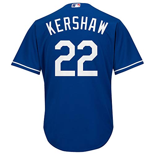 Outerstuff Clayton Kershaw Los Angeles Dodgers #22 Blue Toddler Cool Base Alternate Jersey (2T)