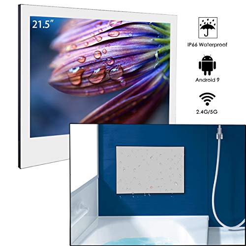 Buy Bargain Haocrown Mirror TV, Smart TV That Integrates Android, WiFi, Bluetooth,with IP66 Waterpro...