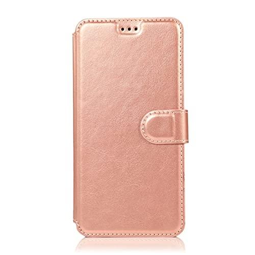 PHONETABLETCASE+ / for Compatible with Samsung Galaxy Note 9 Textura de la Pantorrilla Hebilla magnética Flip Horizontal Funda de Cuero con Soporte y Ranuras Tarjetas y Marco de Fotos,Protección de l