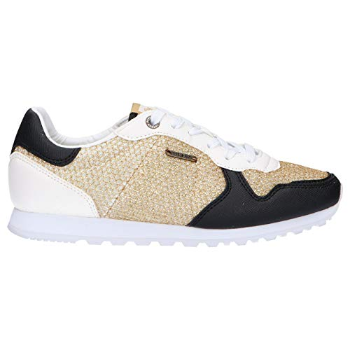 Zapatillas Deporte de Mujer PEPE JEANS PLS30626 Verona 099 Gold