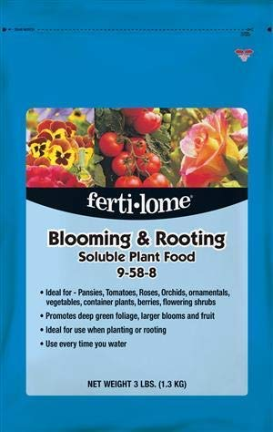 Ferti-lome 11772 Blooming & Rooting Soluble Plant Food, 3 Lbs