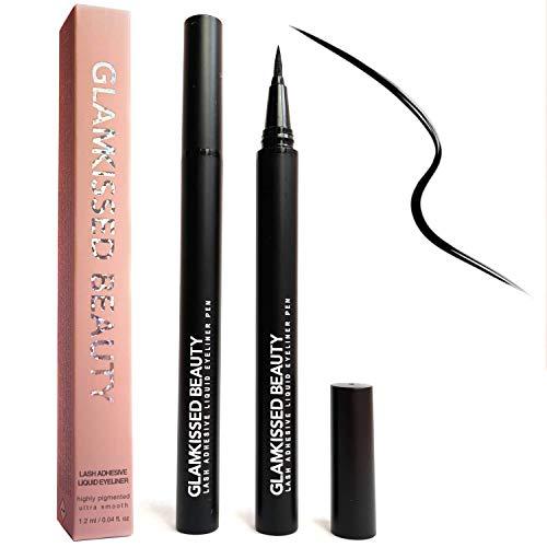 Selbstklebender Eyeliner Stift, Neuester Klebender Magic Eyeliner für Falsche Wimpern, Alternative zu Wimpernkleber (kein magnetischer Eyeliner)