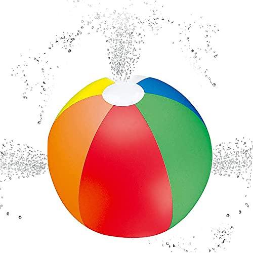 CJBIN Spielzeug Sprinkler, Kinder Outdoor Aktivitäten Strandball Spielzeug für Die Summer Beach Pool Party, 6 Farben