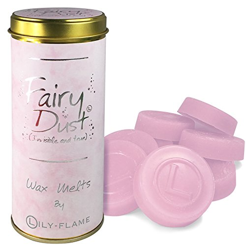 Lily-Flame Scented Wax Melts x 8 - Fairy Dust.