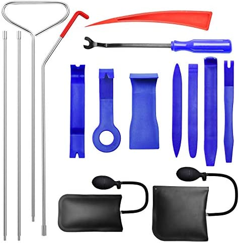 HIRALIY Professional Automotive Car Tool Kit Essential Automotive Car Tool with Long Reach Grabber product image