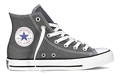 Converse Unisex Chuck Taylor All Star High Top Sneakers (10 D(M) US, Black/White)