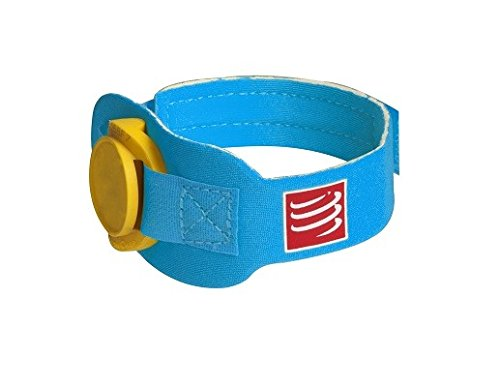 COMPRESSPORT - Timing Chip Strap Ice, Color Blue