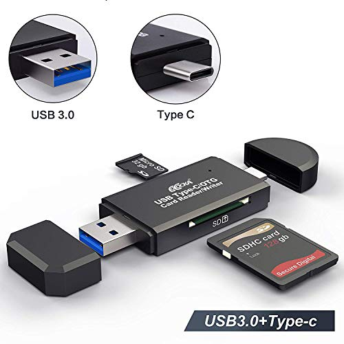USB3.0で超高速データ転送! SDメモリー カードリーダー USBマルチカードリーダー 多機能 OTG SD/Micro SD...