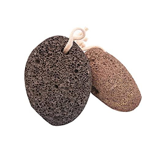 Naisedier Tierra Natural Lava Piedra pómez del pie depurador removedor de Callos muertas de la Piel Exfoliante depurador Calmar la Mente del Cuerpo 2pcs