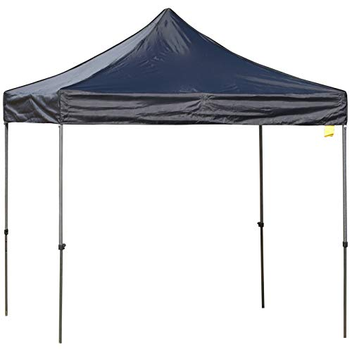 Outsunny 3m x 3m Pop Up Gazebo Marquee Party Tent Wedding Canopy Adjustable Height with Carrying Bag, Sandbag – Black