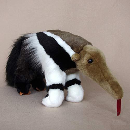 fangzhuo Juguete de Peluche Oso Hormiguero Grande Muñeca Animales De Peluche Juguetes Vida Real Grandes Juguetes De Peluche Regalos Raros