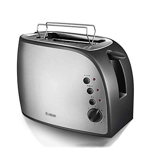 Bread maker Grille-Pain, 2 Toasters, Petit déjeuner à la Maison conducteur de Spit, Acier Inoxydable, 500W, avec Gril de Levage