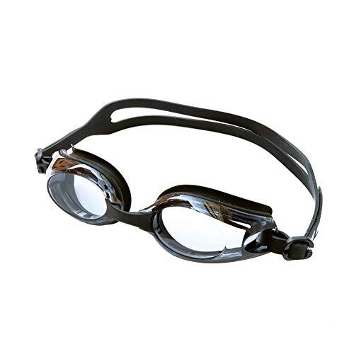 Demarkt Gafas de natación de miopía (0 a 800), protección contra Rayos UV, antivaho, Color Negro, tamaño 500°