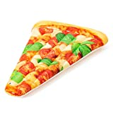 Bestway 44038 Matelas de plage gonflable Pizza Party 188 x 130 cm