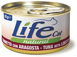 Life Cat Natural Wet Food Tuna with Lobster 24× 85g