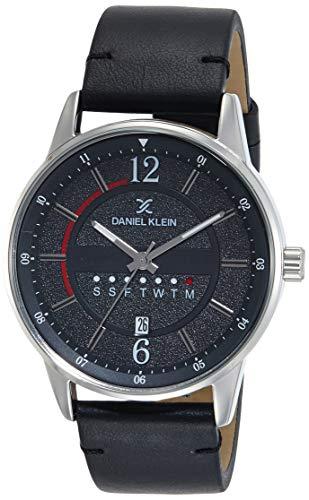 Daniel Klein Analog Black Dial Men's Watch-DK11650-2