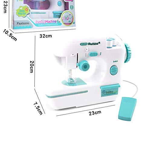 Alicische Simulatie Kinderen Naaimachine Speelgoed Kids Mini Meubilair Pretenderen Spelen Meisje Ontwerp Kleding Speelgoed voor Educatief Gift
